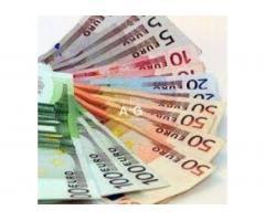 Aide financière rapide aux personnes honnêtes