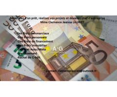 Crédit et Financement Sérieux Et Rapide // clemencelauriet@outlook.fr