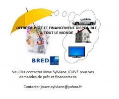 Empruntez en toute sécurité sans passer par une banque // jouve.sylvine@yahoo.fr