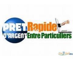 Prêt urgent entre particulier en France Réunion Guadeloupe Guyane Martinique