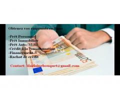Offre de prêts personnels entre particuliers aux personnes en difficultés financières