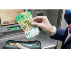 Offre de prêt d'argent en Suisse - Crédit privé en Suisse