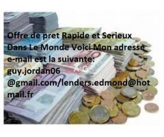 Offre de prêt entre particuliers - petites annonces Guyane Numéro Whatsapp : +33678618303